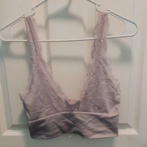Purple Urban Outfitters Crop Top